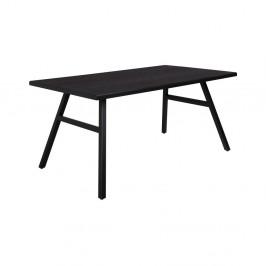 Čierny stôl Zuiver Seth, 180 x 90 cm