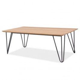 Konferenčný stolík s kovovou konštrukciou Signal Grena, dĺžka 110cm