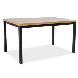 Jedálenský stôl s konštrukciou z lakovanej ocele Signal Normano, dĺžka 180cm