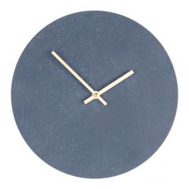 Sivé drevené nástenné hodiny House Nordic Paris, ⌀30cm