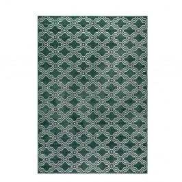 Zelený koberec White Label Feike, 160×230 cm