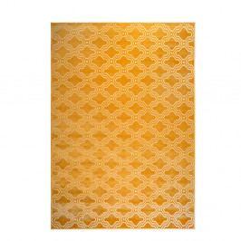Žltý koberec White Label Feike, 160 x 230 cm