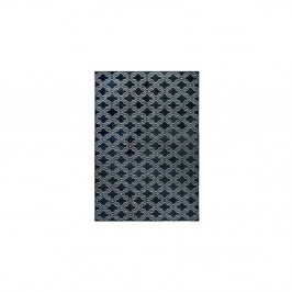 Tmavomodrý koberec White Label Feike, 160×230 cm