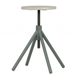 Drevená stolička so zelenými nohami De Eekhoorn Lily