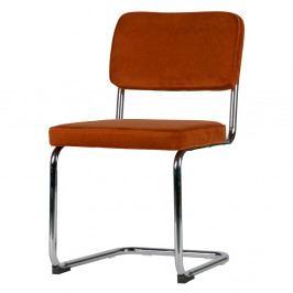 Sada 2 červených stoličiek De Eekhoorn Lien