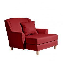 Červená koženková leňoška Max Winzer Judith
