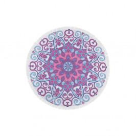Farebná plážová osuška z bavlny Suri,⌀150 cm