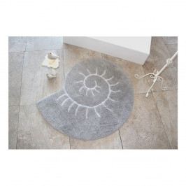 Kúpeľňová predložka Helix Grey, Ø90 cm