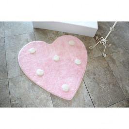Kúpeľňová predožka Alessia Poni Pink, Ø90 cm