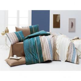 Obliečky s plachtou na dvojlôžko Nazenin Home Rulling Sea, 200×220 cm