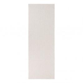 Krémový behúň vhodný do exteriéru Narma Diby, 70 × 350 cm