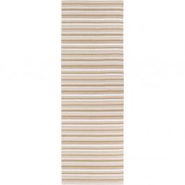 Hnedo-biely behúň vhodný do exteriéru Narma Hullo, 70 × 350 cm