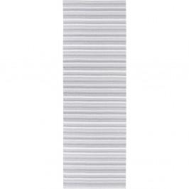 Sivo-biely behúň vhodný do exteriéru Narma Hullo, 70 × 150 cm