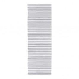Sivo-biely behúň vhodný do exteriéru Narma Hullo, 70 × 350 cm