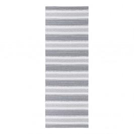 Sivý behúň vhodný do exteriéru Narma Runo, 70 × 150 cm