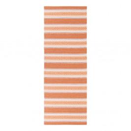 Oranžový behúň vhodný do exteriéru Narma Runo, 70 × 200 cm