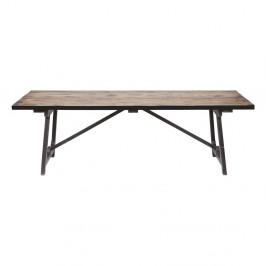 Jedálenský stôl z masívneho borovicového dreva BePureHome Craft, 220 × 90 cm
