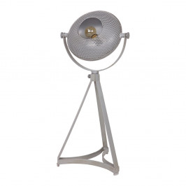 Sivá stolová lampa De Eekhoorn Blown