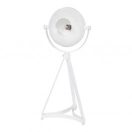 Biela stolová lampa De Eekhoorn Blown