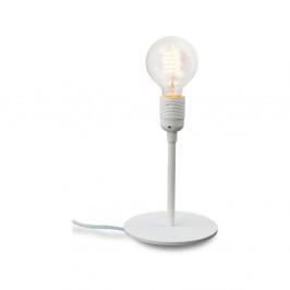 Biela stolová lampa Bulb Attack Uno Basic