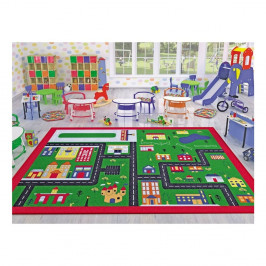 Detský koberec Town, 133×190 cm