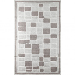 Koberec Cream Tiles, 155×235 cm
