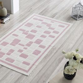 Koberec Pink Tiles, 120×180 cm