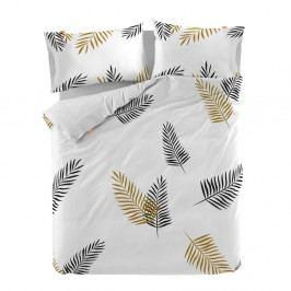 Bavlnená obliečka na paplón Blanc Foliage, 220×220 cm