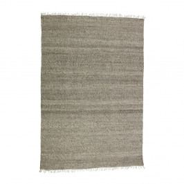 Hnedý vlnený koberec De Eekhoorn Fields, 240×170cm