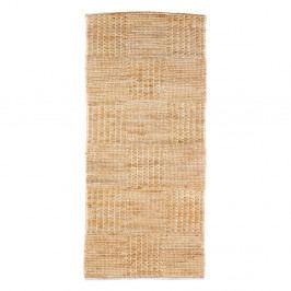 Prírodný koberec z juty De Eekhoorn Scenes, 140×70cm