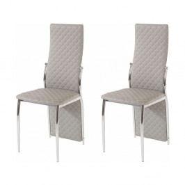 Sada 2 sivých jedálenských stoličiek Støraa Wilson