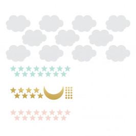 Set nástenných samolepiek Dekornik Sky