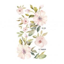 Set nástenných samolepiek Dekornik Botanix Pastel Magnolia S