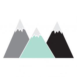 Nástenná samolepka Dekornik Pastel Mountains, 150×83 cm