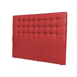 Červené čelo postele Windsor & Co Sofas Deimos, 160×120 cm