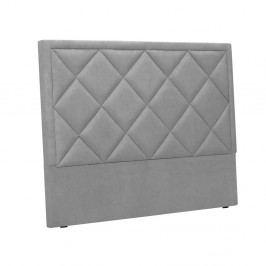 Svetlosivé čelo postele Windsor & Co Sofas Superb, 180×120 cm