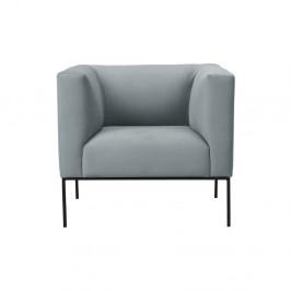 Svetlosivé kreslo Windsor & Co Sofas Neptune