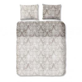 Sivé bavlnené obliečky Muller Textiel Descanso, 135×200cm