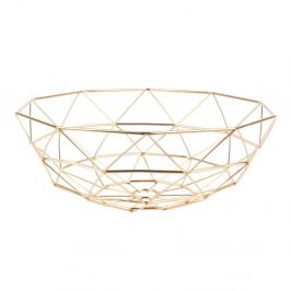 Misa na ovocie v zlatej farbe PT LIVING Diamond, ⌀ 35 cm