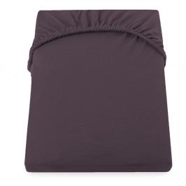 Hnedá elastická plachta DecoKing Amber Collection, 200/220 x 200 cm