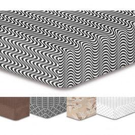 Sivá elastická plachta so vzorom DecoKing Hypnosis Deerest, 90×200cm