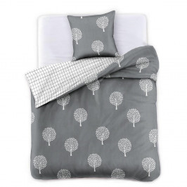 Obliečky z bavlneného saténu DecoKing Alberto, 135×200cm + obliečka na vankúš 50×75