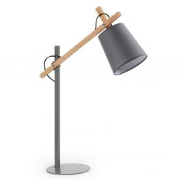 Sivá stolová lampa La Forma Jovik