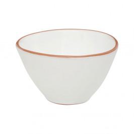 Biela miska na cereálie z glazovanej terakoty Premier Housewares Calisto, ⌀ 16 cm