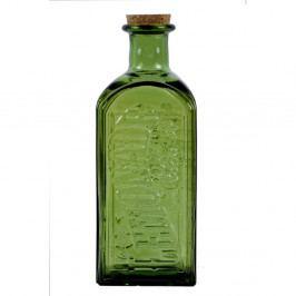 Zelená fľaša s korkovým uzáverom Ego Decor, 2 l