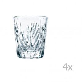 Sada 4 pohárov na whisky z krištáľového skla Nachtmann Imperial, 310 ml