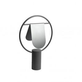 Tmavosivá stolová lampa z kovu HARTÔ Anae