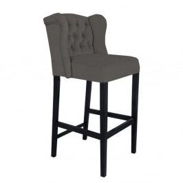 Sivá barová stolička Mazzini Sofas Roco
