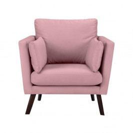 Ružové kreslo Mazzini Sofas Cotton