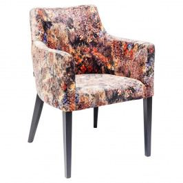 Farebná stolička s opierkami na ruky Kare Design Safari